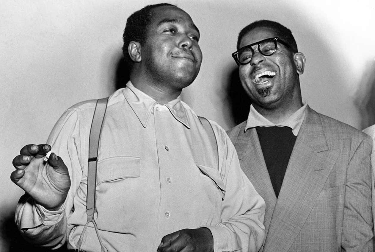 The umbrella man, Louis Armstrong e Dizzy Gillespie